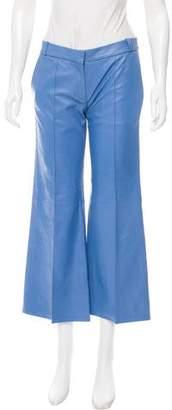 Barbara Bui Flared Leather Pants w/ Tags