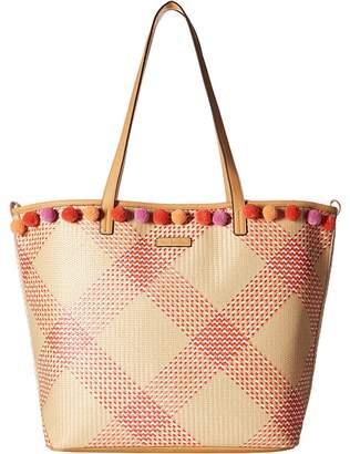 Vera Bradley Straw Beach Tote Tote Handbags