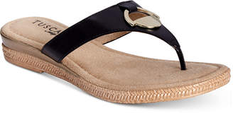 Easy Street Shoes Tuscany by Belinda Thong Sandals Women's Shoes