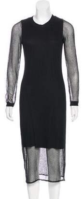 Jonathan Simkhai Long Sleeve Midi Dress w/ Tags