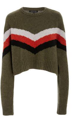 Marissa Webb Lukas striped wool blend ski sweater