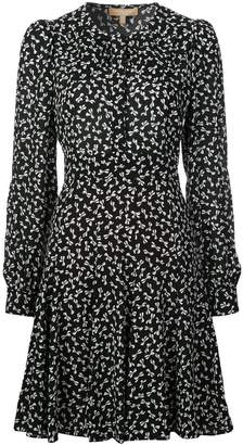 Michael Kors bow print dress