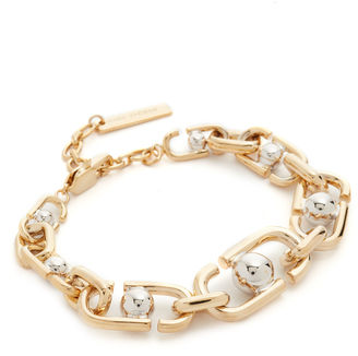Marc Jacobs Icon Statement Link Bracelet $225 thestylecure.com