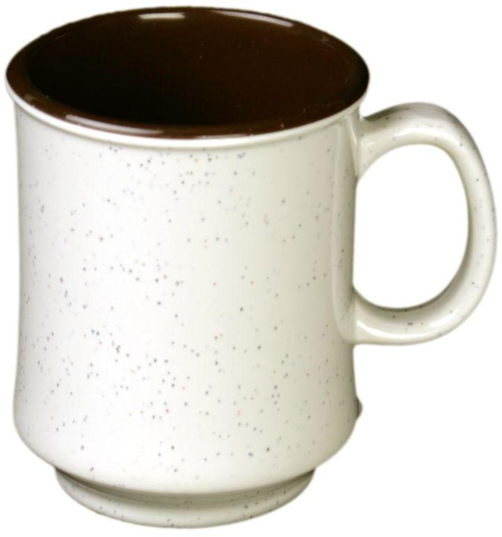 Restaurant Essentials Arcacia 8 oz., 3 in. Cup Two Tone (12-Piece)