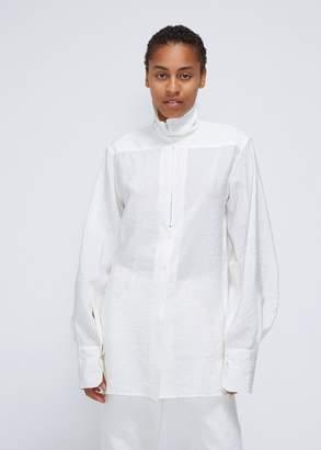 Lemaire Long Sleeve High-Collar Shirt