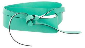 Kenzo Leather Wrap Belt