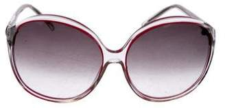 Matthew Williamson Oversize Gradient Sunglasses
