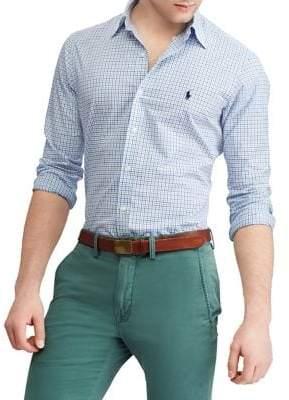 Polo Ralph Lauren Printed Poplin Button-Down Shirt