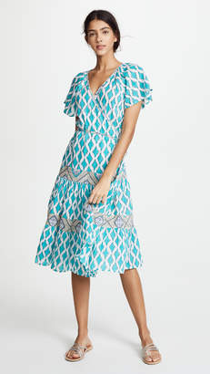 Roller Rabbit Lantern Zineb Wrap Dress