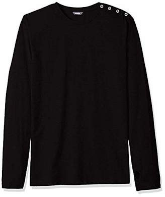 ROBUST Men's Side Button Full Sleeve T-Shirt (Size-)