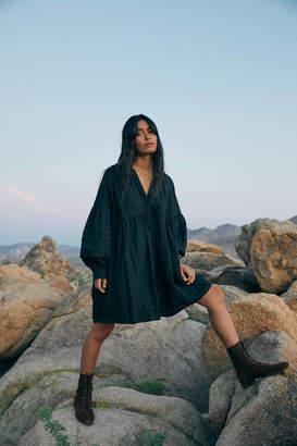 Urban Outfitters Amelia Long Sleeve Babydoll Dress