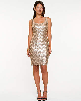 Le Château Sequin Cocktail Dress