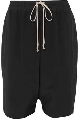 Rick Owens Silk Shorts - Black