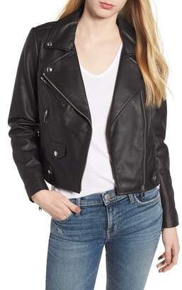 Rebecca Minkoff Wes Leather Moto Jacket