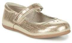 See Kai Run Baby's& Toddler's Ginger Metallic Leather Mary Janes