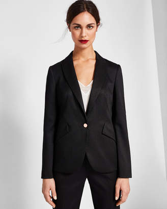 Ted Baker MIRAA Textured tailored suit jacket