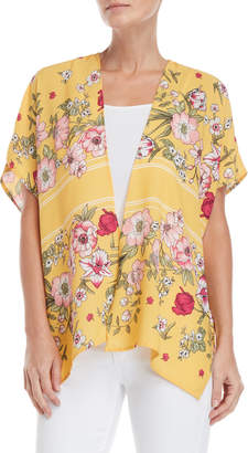 Love Tree Floral Open Jacket