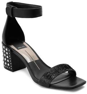Dolce Vita Women's Dora Studded Block Heel Sandals