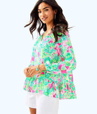 Lilly Pulitzer Womens Tensley Top