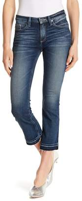 Miss Me Released Hem Cropped Bootcut Jeans