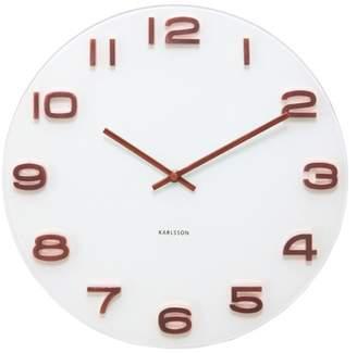 Karlsson Vintage White Wall Clock