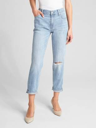 Gap Wearlight Mid Rise Best Girlfriend Jeans