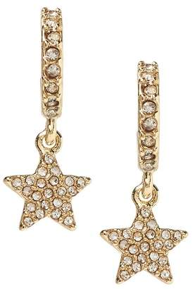 Banana Republic Pave Star Mini Hoop Earring