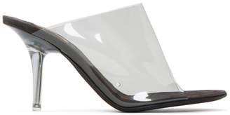 Yeezy Transparent Black PVC Heels