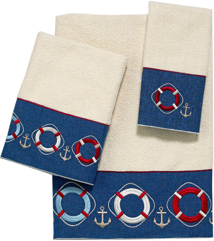 Avanti Life Preservers II Bath Towel Collection