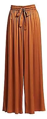 Zimmermann Women's Silk Wide Leg Drawstring Pants