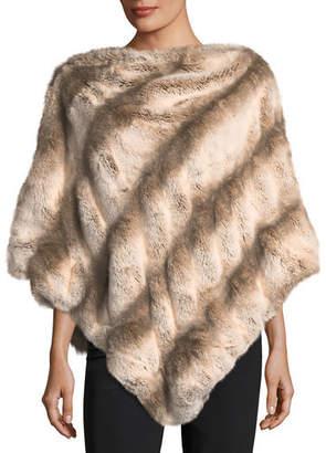 Couture Fabulous Furs Faux-Fur Poncho