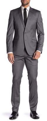 Kenneth Cole Reaction Shine Slim Fit 2-Piece Suit