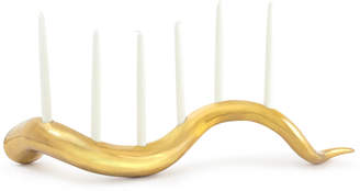 Jonathan Adler Giant Brass Horn Candle Holder
