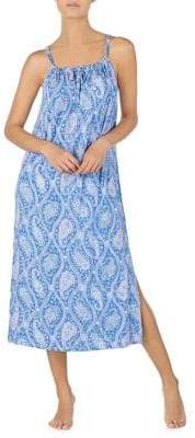 Lauren Ralph Lauren Paisley Ballet Gown