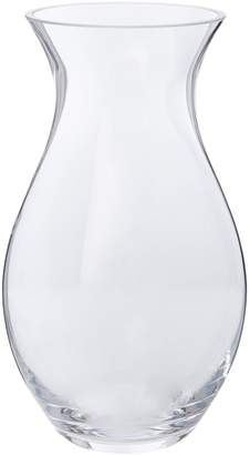 Linea Hourglass clear vase 30cm