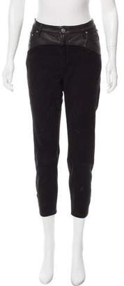 IRO Wacrie Mid-Rise Skinny Leather Pants w/ Tags