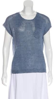 Ralph Lauren Black Label Knit Short Sleeve Top