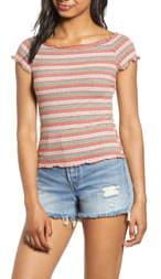 PST by Project Social T Lettuce Edge Rib Tee