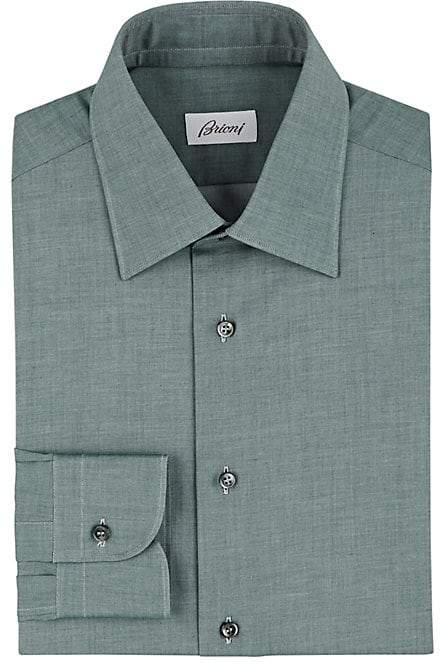 Men's Mélange Cotton Twill Shirt