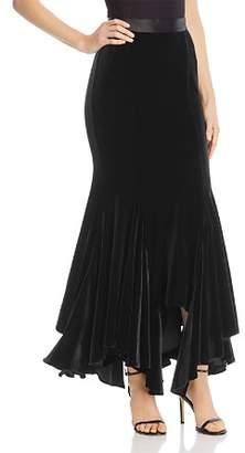 Divine Heritage Velvet Maxi Skirt