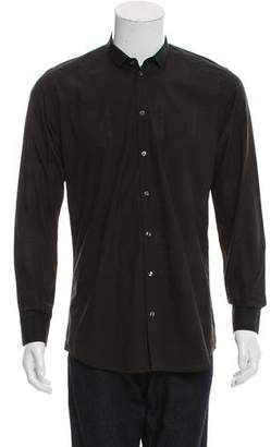 Dolce & Gabbana Gold Button-Up Shirt