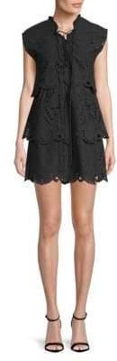 IRO Evene Tiered Cotton Dress