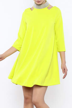 Gracia High Neck Dress
