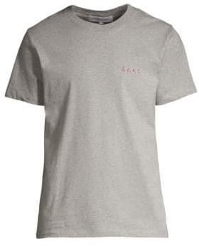 Maison Labiche Maison Labiche Men's G.O.A.T. Cotton Tee - Light Grey - Size Small