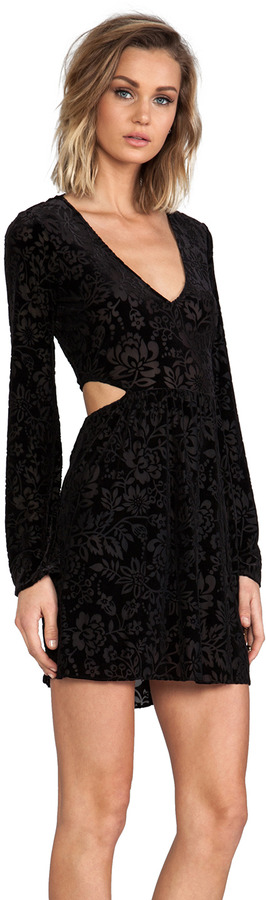 Dolce Vita Barbarella Stretch Velvet Dress