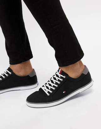 ea00318302c0b8 at Asos · Tommy Hilfiger Harlow Lace Up Canvas Sneakers in Black