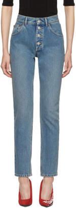 Balenciaga Blue Tube Jean