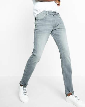 Express Slim Gray Stretch+ Jeans