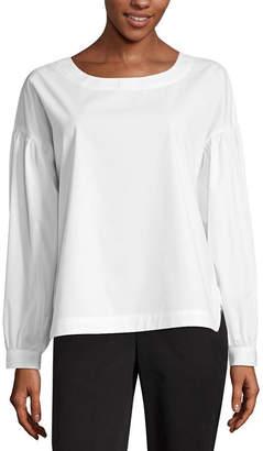WORTHINGTON Worthington Modern Fit Long Sleeve Shirt