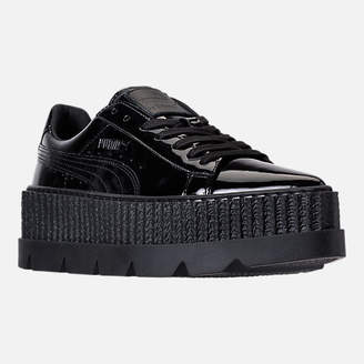 Puma Women's Fenty x Rihanna Pointy Creeper Patent Cleated Casual Shoes